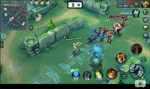 新MOBA手游《非人学园》试玩 技能特效爆炸!